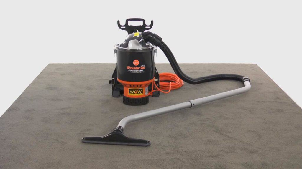 Hoover Backpack commercial Vacuum